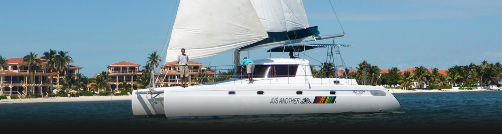 Caye Caulker Catamaran Sailing